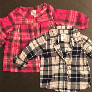 3M Flannel long sleeve shirts